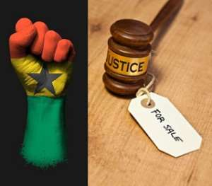 The power of corruption within Ghana's judiciary system