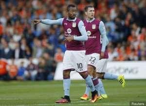 Aston Villa fans react to mounting reports linking Jordan Ayew to Chinese side Shanghai SIPG