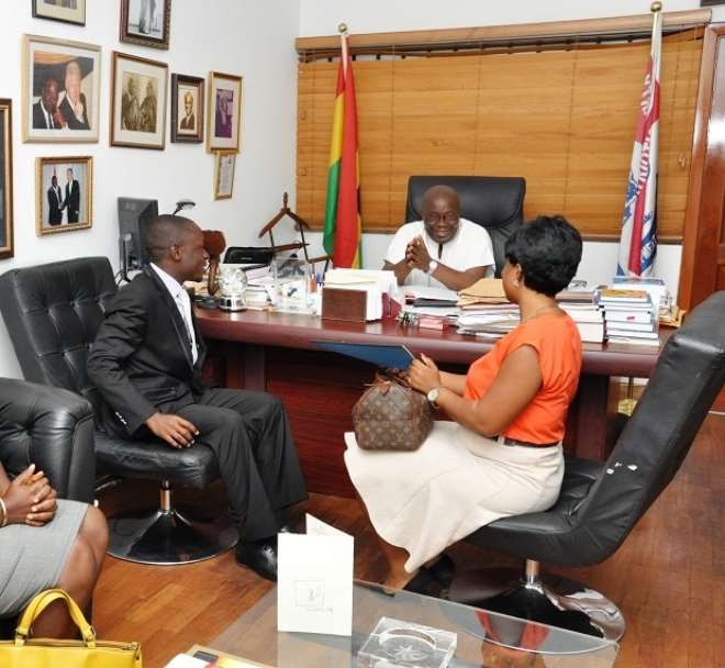 H. E. Nana Addo's Office 1