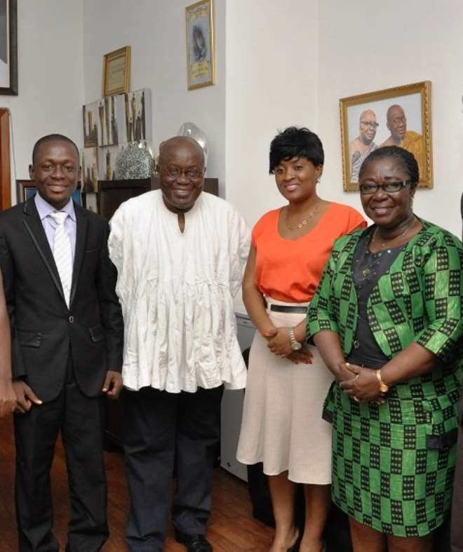 H.e. Nana Addo's Office