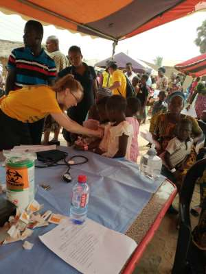 US Medical Team In Ghana To Provide Free Health Screening