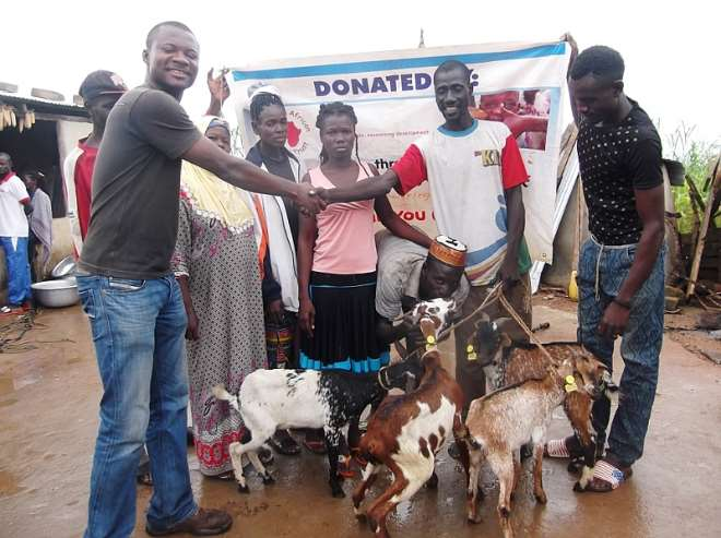 Some Goat Beneficiaries