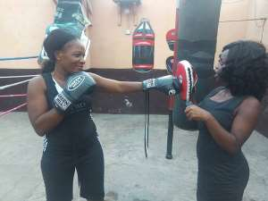 """Yarkor """"Chavez"""" Annan Wants Government To Support Female Boxers"""
