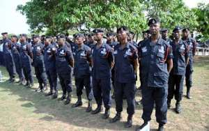 Kasoa Police Outnumbered By Suspected Criminals