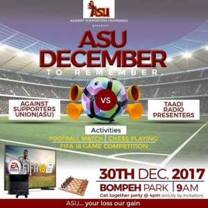 ASU December-To-Remember Festival Set To Rock Takoradi This Yuletide