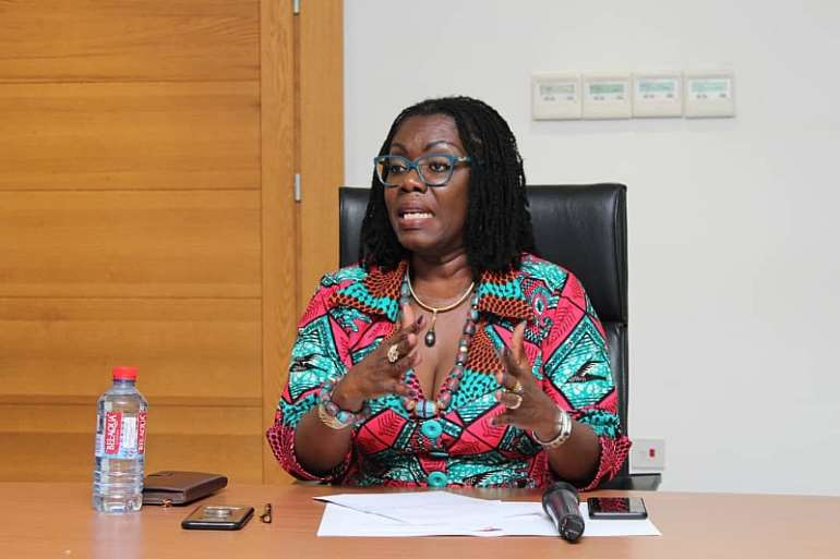 Communications Minister, Ursula Owusu Ekuful