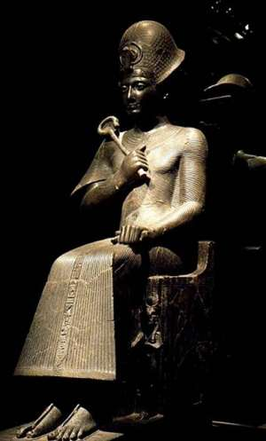 Ramesses II in the Egyptian Museum of Turin, Italy. Wikipedia.