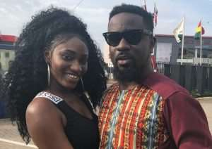 Sarkodie Apologise on Wendy Shay's Behalf over Interview 'gaffe'