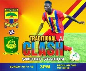 Hearts of Oak To Play Ebusua Dwarfs On Sunday