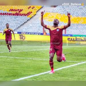 John Antwi Returns To Scoring Ways In Misr Lel Makasa Win Over Petrojet