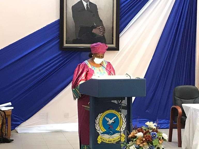 Her Excellency Finda E.M. Koroma