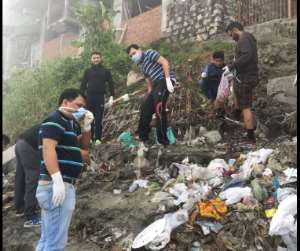 Social Media Users Clean Up Sukleswar Ghat