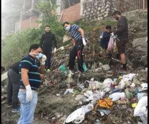 Social Media Users Clean Up Sukleswar Ghat