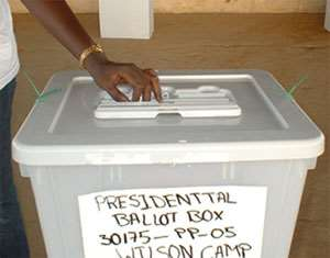NPP angry over 6 'missing' ballot boxes from EC's moving truck
