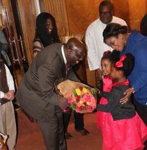 Let's Mobilize For The Future---High Commissioner To UK Papa Owusu-Ankomah