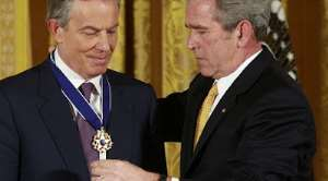 Tony Blair and George Bush: Two biggest liars in the political history of Britain and America