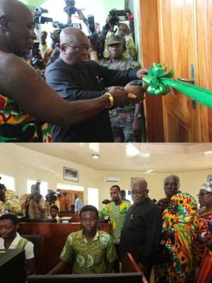 Akufo-Addo Honours J.B. Danquah With A Memorial Centre