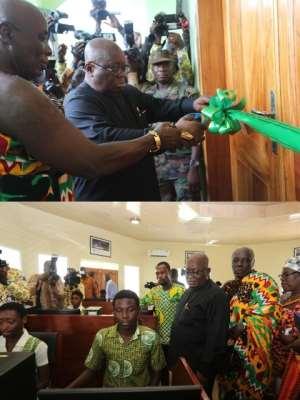 Akufo-Addo Honours J.B. Danquah With A Memorial Centre