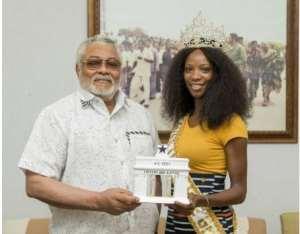 Smile To Make Ghana Proud- Rawlings To Miss Universe Ghana '18