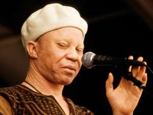 Salif Keita Quitting Music To Fight Albinism Stigma