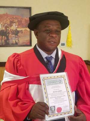 Congratulations To Dr. Lord Oblitey Commey!
