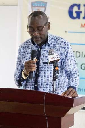 Prof. Kwamena Kwansah-Aidoo, Rector, GIJ