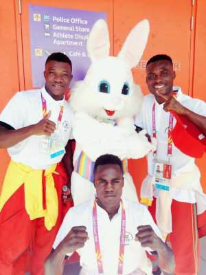 Ghana's Top Seven Rated Amateur Boxers