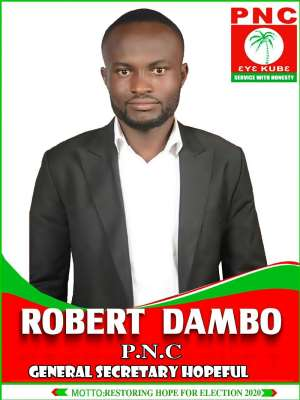 Robert Dambo For PNC General Secretary...Motto: Restoration Of Hope For Election 2020