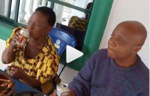 Singer, Bright Chimezie With His 93-yr-old Mum Having A Cute Mother & Son Time
