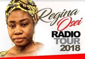 Regina Osei's Radio Tour Kicks Off Nov 11