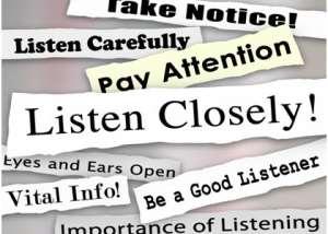 Building an Effective Relationship 1 (Art of Listening)