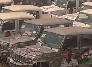 NDC Accused of Diverting 100 Vehicles Meant for Education Ministry