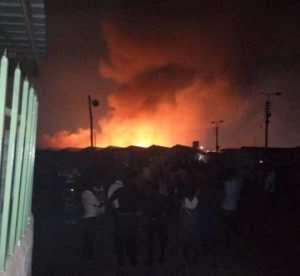 80 Shops Gutted by Odorna Market Fire
