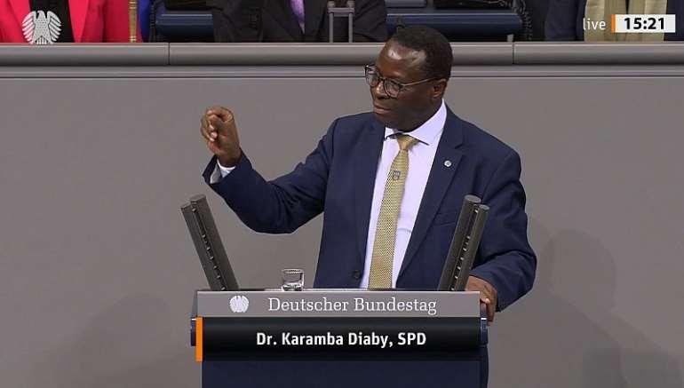 Member of the German Parliament Dr. Karamba Diaby