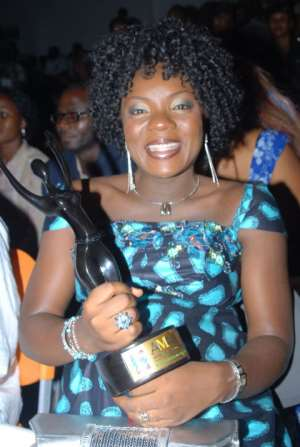 CHIOMA CHUKWUKA --AMAA BEST ACTRESS IN LEAD ROLE