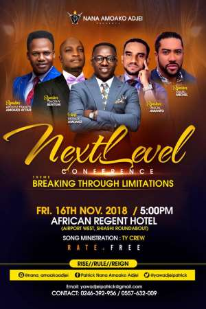Maiden Next Level Conference To Host Majid Michel, Amoako Attah, Others