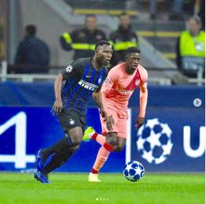 Kwadwo Asamoah Happy With Milan's Performance Against Barcelona