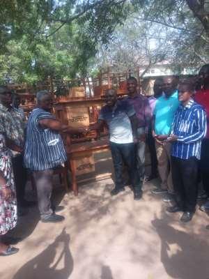 Tro-Bu MP Donate Furniture To Ghana Education Service