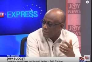 Seth Terkper is Finance minister under the Mahama government of January 2013 to January 2017.
