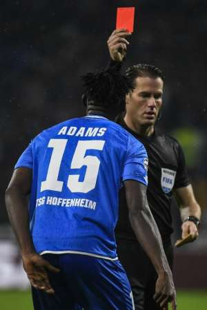 UCL: Kassim Adams Sees Red As Hoffenheim Fight Back To Earn 2-2 Draw At Lyon