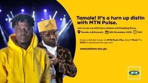 Fancy Gadam, Flowking Stone To Thrill @ MTN Pulse Invasion in Tamale