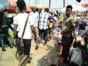 Kumasi: Adum Footbridge Turns Motorway And Trading Centre