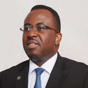 Dr Johnson Asiama   Former Second Deputy Governor of BOG