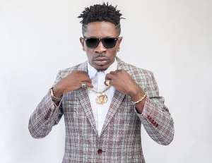 Shatta Wale throws