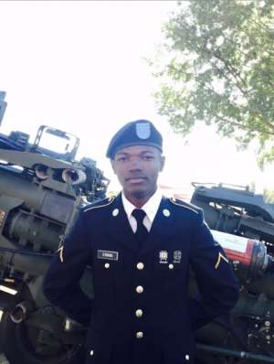 Ghanaian Solomon Ennin: The Young Soldier In The U.S Army Flying Flag Of Ghana Through Music And Philanthropy