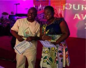Multimedia's Ivy Setordzie, Hubert Yevu Pick GJA Awards
