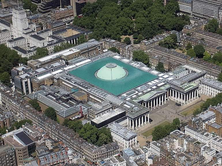 British Museum ,London ,United Kingdom. Wikipedia. Is this the largest citadel of looted artefacts in the world?
