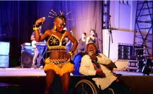 Osibisa's Teddy Osei Blesses Wiyaala At