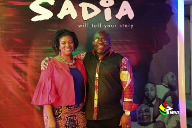 Sadia5 Ceo Pearl With Deputy Minister Of Communications George Andah