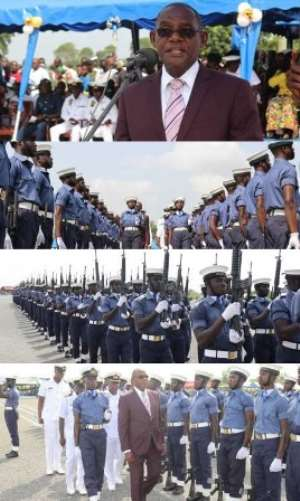 267 Navy Personnel Pass Out